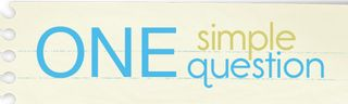 One simple question button