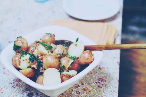 mommycoddle_potatoes_spinach_pancetta